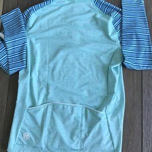 Novara Jackets & Coats - Novara cycling jacket sz L green&blue NWOT